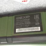 Разбор колонки Dexp P450