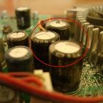 Вздулись конденсаторы на видеокарте
